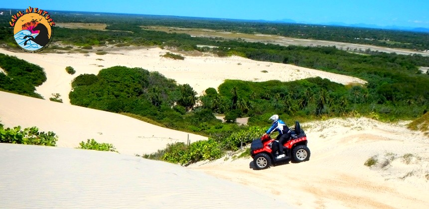 Les excursions en quads